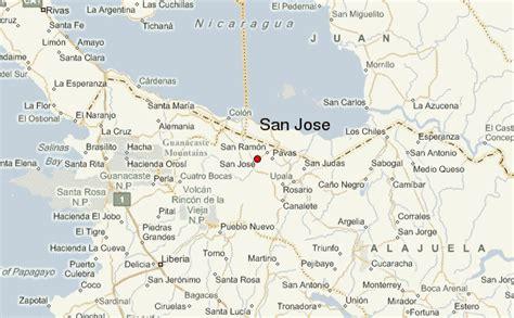 san jose location map gu 237 a urbano de san jose costa rica