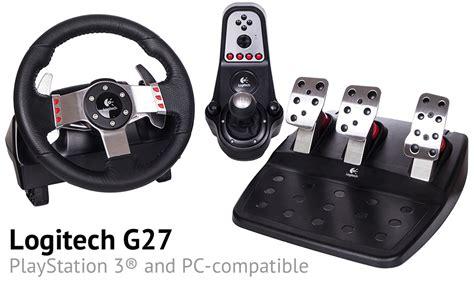 Logitech G27 Steering Wheel Pc technical data about the logitech g27 steering wheel