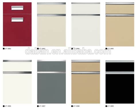 bathroom cabinet material options petg membrane high gloss kitchen cabinet door roller