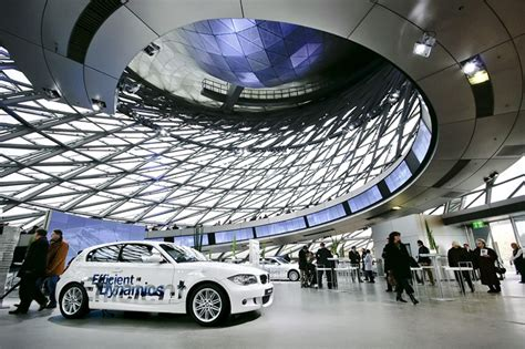 bmw lauches his designed bmw welt one roof