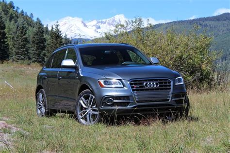 audi sq5 2014 2014 audi sq5 photo gallery of instrumented test from car