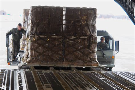 27 aps loads humanitarian cargo bound for iraq gt minneapolis st paul air reserve station