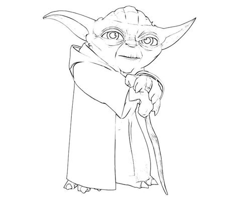 printable yoda template star wars yoda coloring pages coloring home