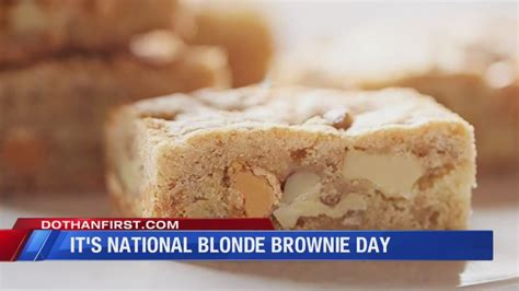 national blonde brownie day  qualads