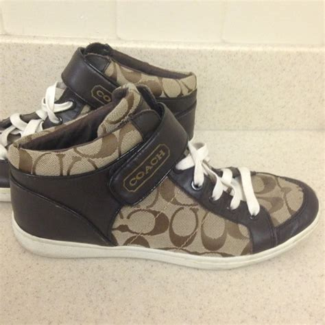 57 coach shoes coach hightop tennis shoes from sam