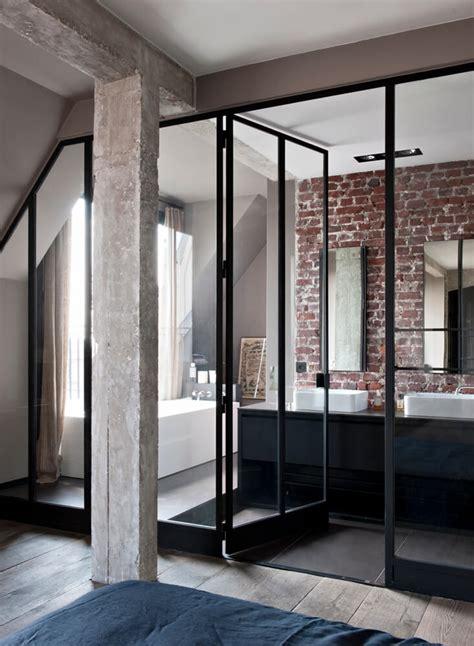 porte pliante belgique inspiration des portes vitr 233 es style atelier frenchy fancy