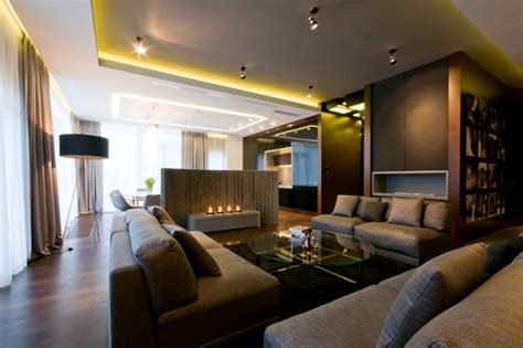 luxurious high  warsaw apartment  hola design