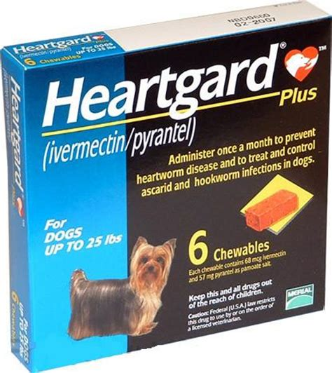 heartgard 174 plus rx ivermectin pyrantel 6 doses animal coalition of ta low cost pet meds