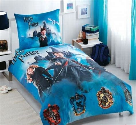Harry Potter Duvet Cover Set 100 Cotton Harry Potter Harry Potter Bed Sets