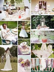 wedding garden tea theme themes primadonna