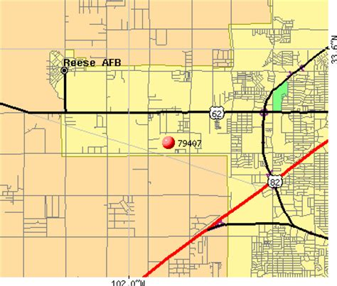 lubbock texas zip code map zip code map of lubbock texas images