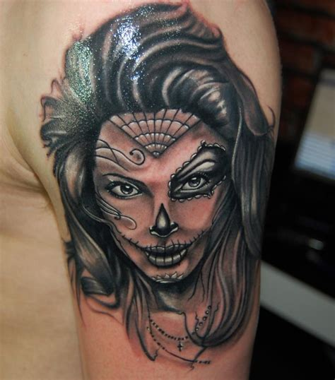 The Witch Day best day of the dead tattoos