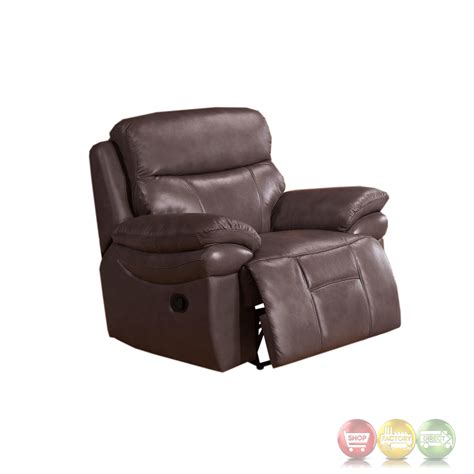 full grain leather recliner summerlands top grain leather full power recliner in smoke