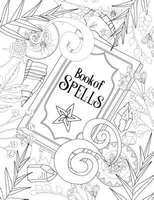 Coloring Book of Shadows: Book of Spells - Magical Recipes