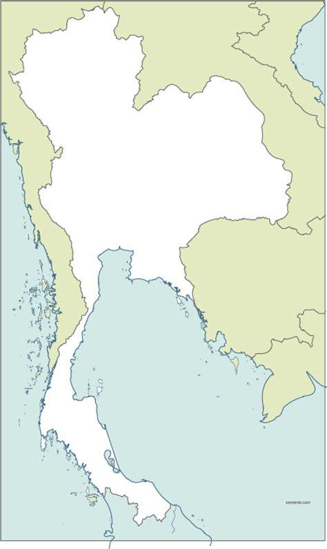 thailand map vector thailand map vector