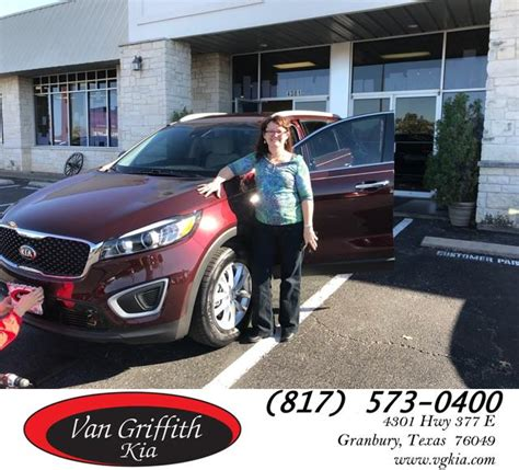 i had a wonderful experience at griffith kia with
