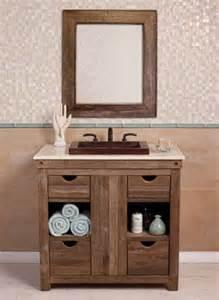 rustic wood bathroom vanity reclaimed wood and rustic bathroom vanity