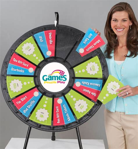 12 To 24 Slot Tabletop Classic Prize Wheel Gpplay 12 Slot Prize Wheel Template