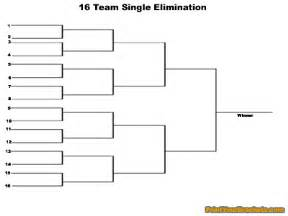 16 Team Consolation Bracket » Home Design 2017