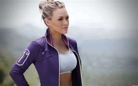 sporty girl wallpaper sporty hilary duff wallpapers and images wallpapers