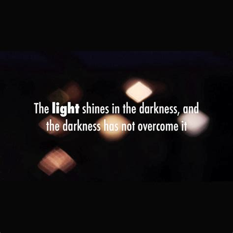 the light shines in the darkness the light shines in the darkness video john 1 1 14
