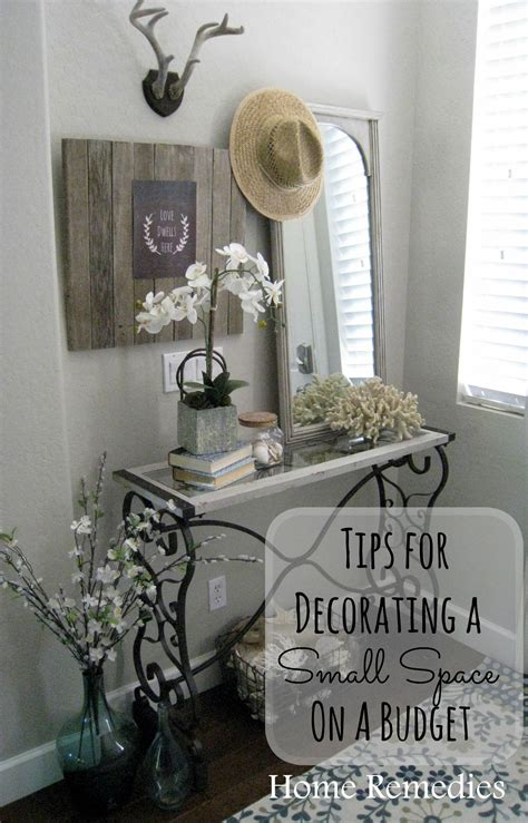 decorating a small space on a budget tips for decorating a small space on a budget