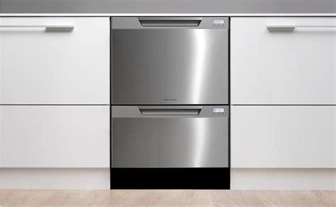 fisher paykel double drawer dishwasher installation fisher paykel dishdrawer dd24dctx6v2 semi integrated