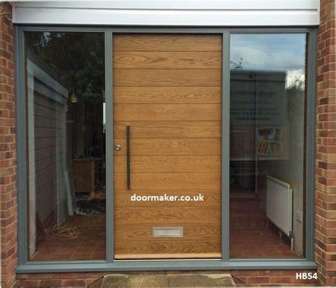 Modern Oak Front Doors Contemporary Front Door Hb54 Bespoke Doors And Windows