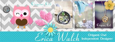 Origami Owl Cover Photo - owl erica origami owl independent designer rock the