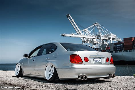 bagged gs300 wide aggressive liberty vip lexus gs stancenation