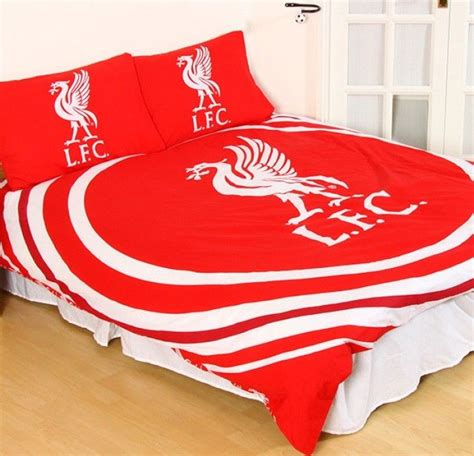 Soccer Quilt Cover by Liverpool Fc Football Club Doona Quilt Duvet Cover