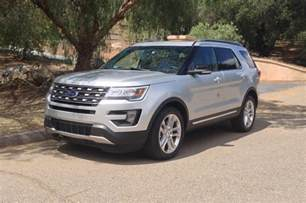 Reviews On Ford Explorer 2016 Ford Explorer Drive Review Photo Gallery