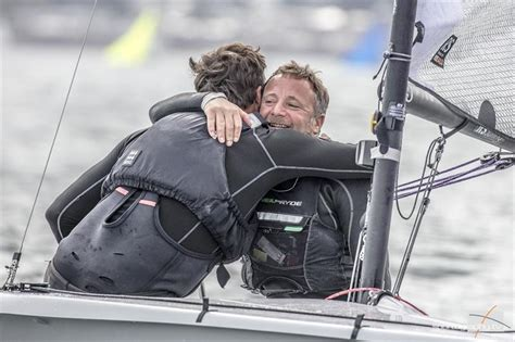 Oli Win jon gorringe and oli win the volvo noble marine