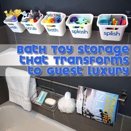 bathtub toy storage ideas 20 unique toy storage ideas