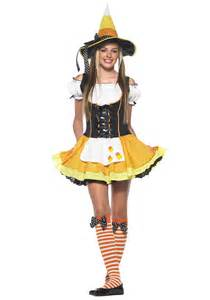 halloween costumes from halloween city teen candy corn witch costume
