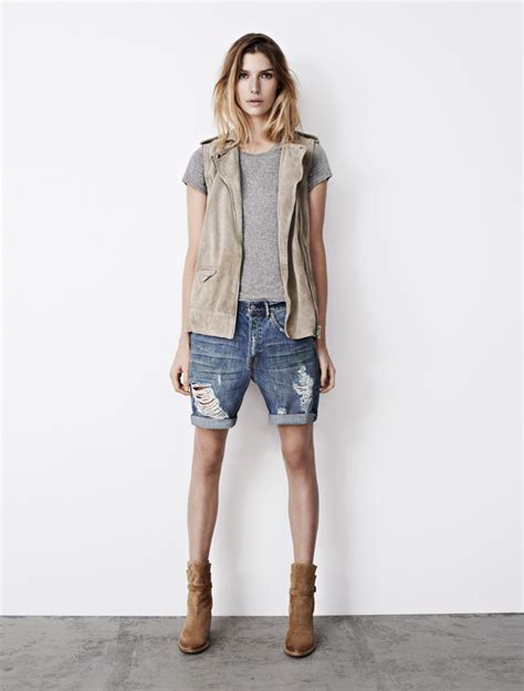 casual and tomboy style wear in all saints summer