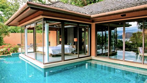 bedroom swimming pool design from pillow to pool