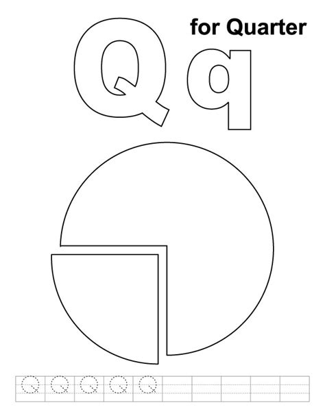 Coloring Page Quarter by Quarter Free Coloring Pages