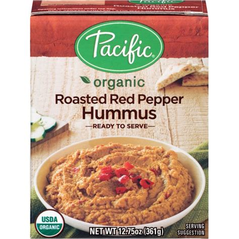 pacific organic roasted pepper hummus from whole foods market instacart