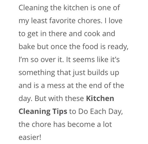 13 kitchen cleaning tips that can be done easily and musely