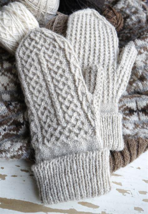 pattern knitting mittens crofters mittens pattern plus a tubular cast on tutorial