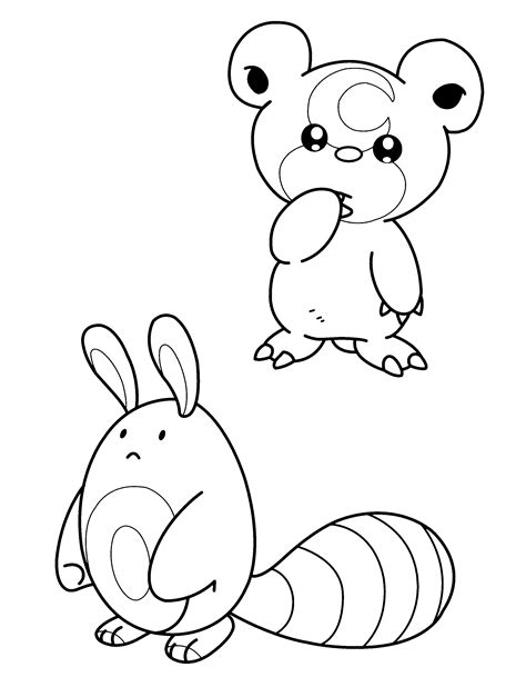 free coloring pages of all pokemon