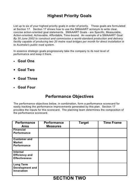 business strategic plan template writersgroup749 web fc2 com