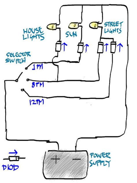 pre lit tree wiring diagram pre lit