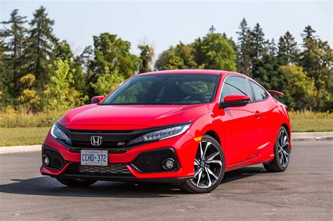 civic si review 2017 review 2017 honda civic si coupe canadian auto review