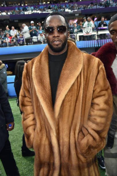 Diddy Makes Fashion Faux Pas With Fur Jacket by Best 25 Mens Fur Coats Ideas On Mens Fur Fur