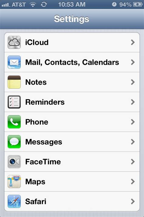 if iphone settings how to transfer data from your android or blackberry to your new iphone 5 imore
