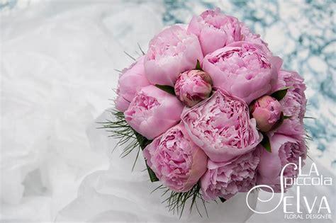 fiore peonia addobbi floreali e bouquet con peonie