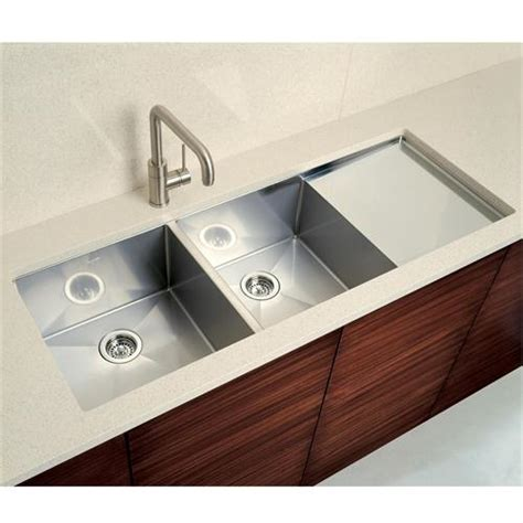 kitchen sinks with drainboard blancoprecision 10 bowl with integral drainboard by blanco on homeportfolio kitchen