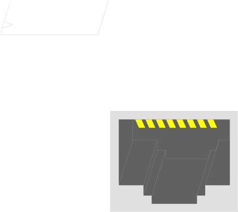 rj45 visio stencil rj45 clip at clker vector clip